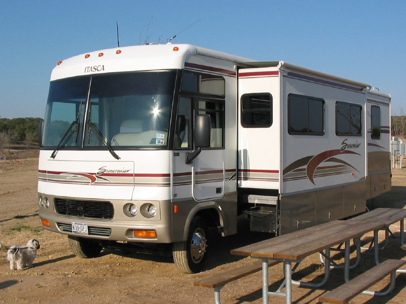Who invented the RV or motor home?
