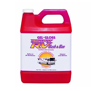This Concentrated Formula From Gel Gloss Is Basically A 2 In 1 Cleaner Specially Designed To Clean And Wax The Roof Of Your Rv One Single Step